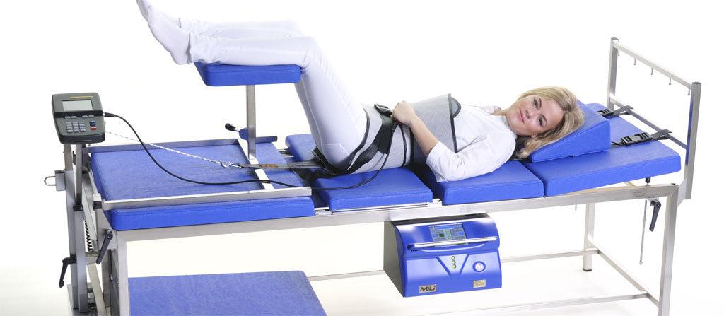 Тракційна терапія в санаторії Кришталеве джерело